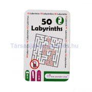 50 Labirintus - foglalkoztató kártyajáték