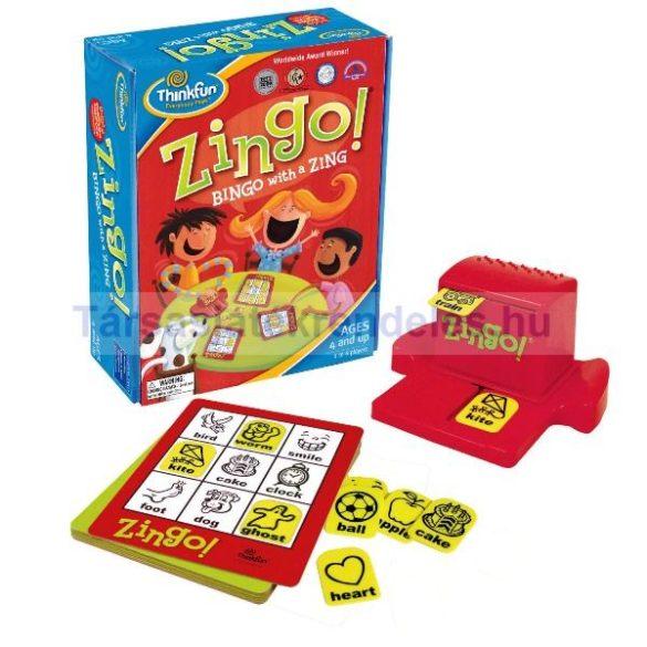 Zingo társasjáték angol nyelvű Thinkfun