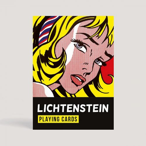 Lichtenstein standard 1*55 lapos römi Piatnik