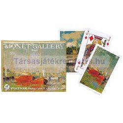 Monet: Hajók 2x55 lapos luxus römikártya - Piatnik