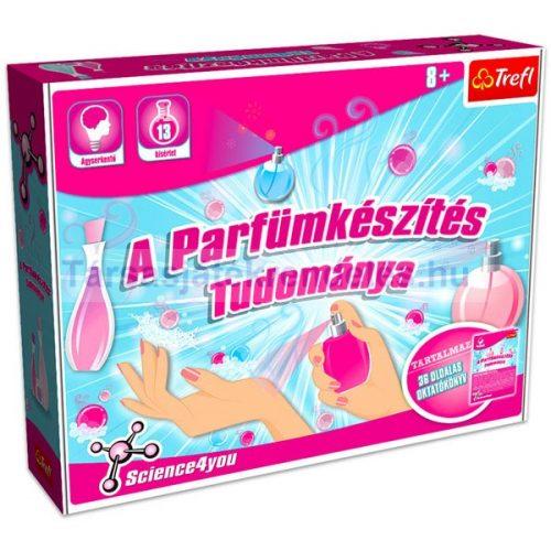 Science4you: A Parfümkészítés tudománya társasjáték - Trefl