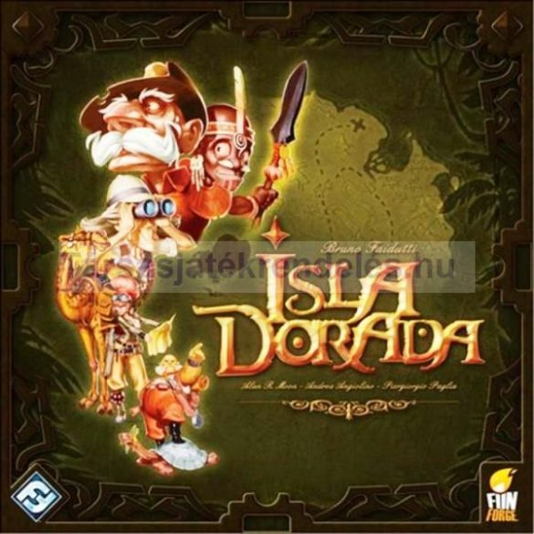 Isla Dorada társasjáték magyar kiadás Delta Vision