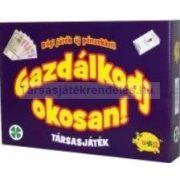 Gazdálkodj okosan társasjáték - klasszikus kiadás, új pénzekkel