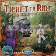 Ticket to Ride Afrika - Map Collection: 3. kiegészítő térkép - The Heart of Africa