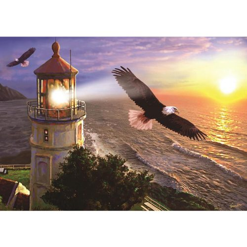 ART 1000 db-os Puzzle - High Flight at the Sun Rise - 4221