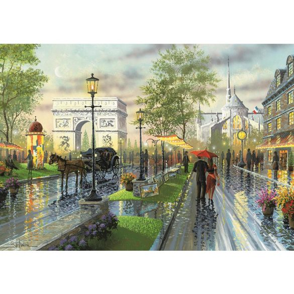 ART 1000 db-os Puzzle - Spring Walk, Paris - 4225