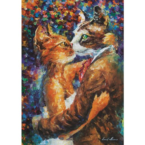 ART 1000 db-os Puzzle - Dance of the Cats in Love - 4226