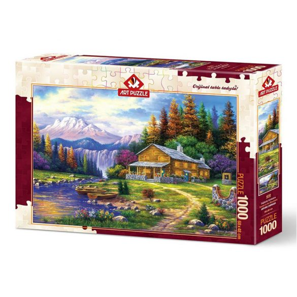 ART 1000 db-os Puzzle - Sunset in the Mountains - 4230