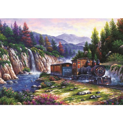 ART 1000 db-os Puzzle - Travelling by Train - 4233