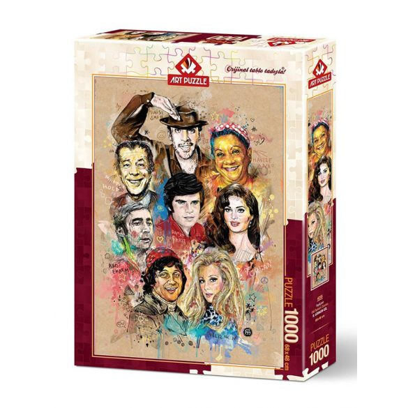 ART 1000 db-os Puzzle - Yeşilçam - Old Turkish Cinema - 4235