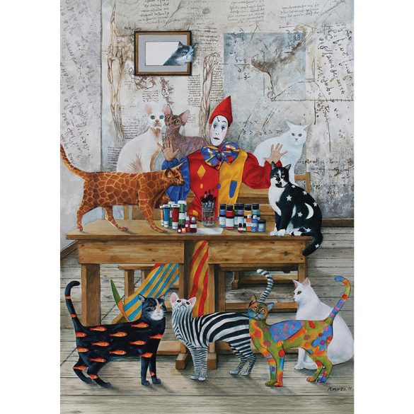 ART 260 db-os Puzzle - The Colored Cats - 4271