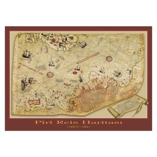 ART 1000 db-os Puzzle - The Piri Reis Map - 4308