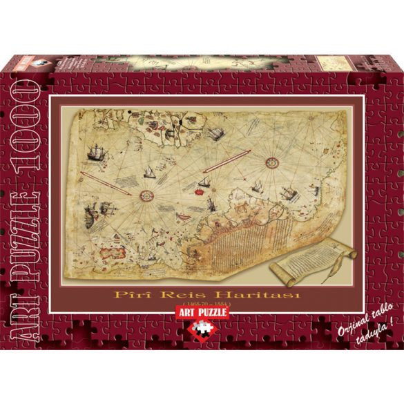 ART 1000 db-os Puzzle - The Piri Reis Map - 4308