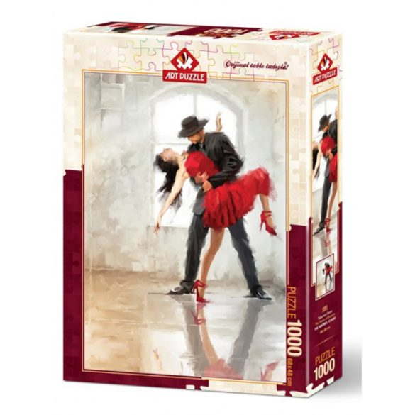 ART 1000 db-os Puzzle - The Dance of the Passion - 4381