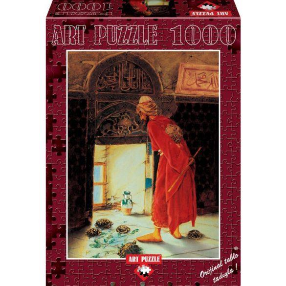 ART 1000 db-os Puzzle - Osman Hamdi Bey: The Turtle Trainer - 4452