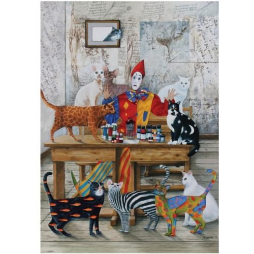 ART 1500 db-os Puzzle - My Colorful World - 4543