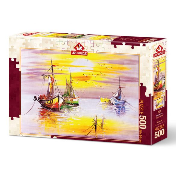 ART 500 db-os Puzzle - Evening Sun - 4578