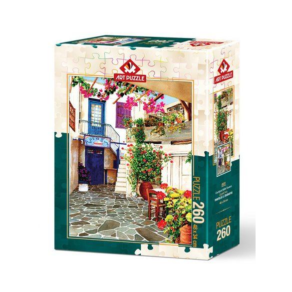 ART 260 db-os Puzzle - Flower Courtyard - 4581
