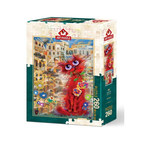 ART 260 db-os Puzzle - Red Cat - 4582