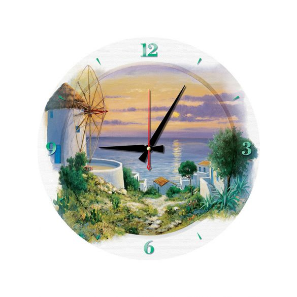 ART 570 db-os Puzzle - Puzzle Clock - In the Evening in Aegean - 5005