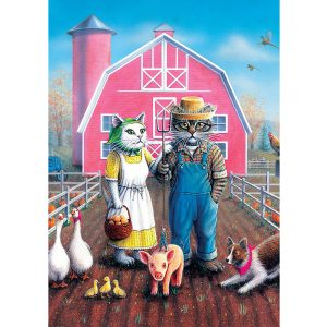 ART 260 db-os Puzzle - Cat Farm - 5028