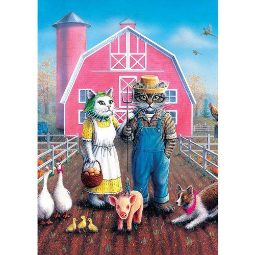 ART 260 db-os Puzzle - Cat Farm - 5028