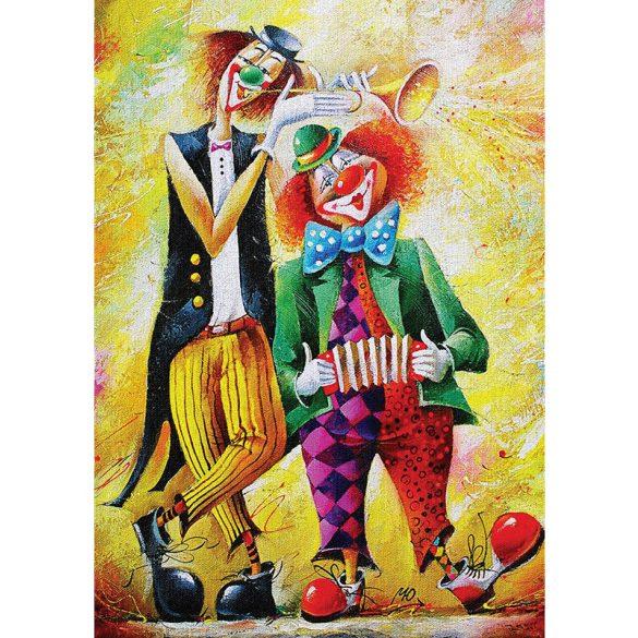 ART 260 db-os Puzzle - Musician Clowns - 5030