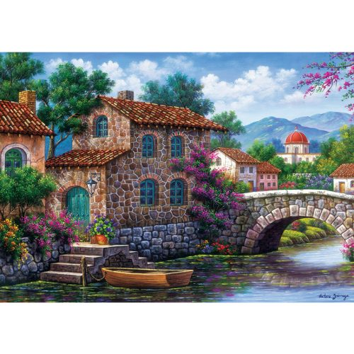 ART 500 db-os Puzzle - Flowery Channel - 5070