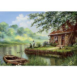 ART 500 db-os Puzzle - Evening Fishing Rod - 5071