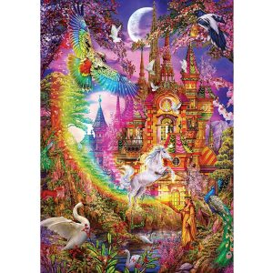 ART 500 db-os Puzzle - Rainbow Castle - 5075