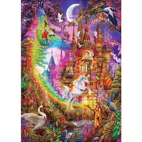 ART 500 db-os Puzzle - Rainbow Castle - 5075