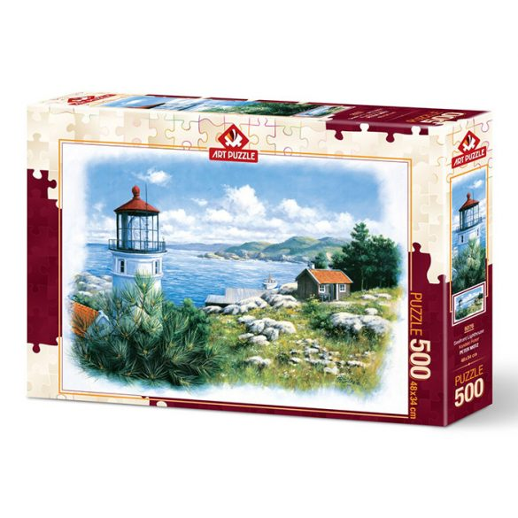 ART 500 db-os Puzzle - Lantern on the Shore - 5076