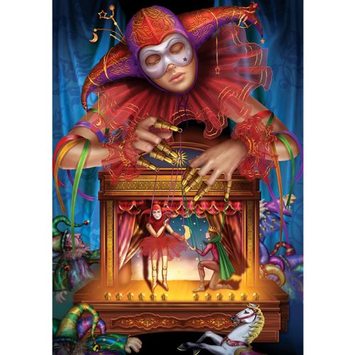 ART 500 db-os Puzzle - Masked Puppeteer - 5077