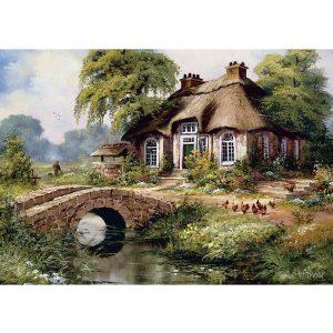 ART 500 db-os Puzzle - Green Village - 5080
