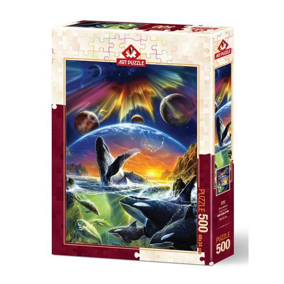 ART 500 db-os Puzzle - Orka Universe - 5085