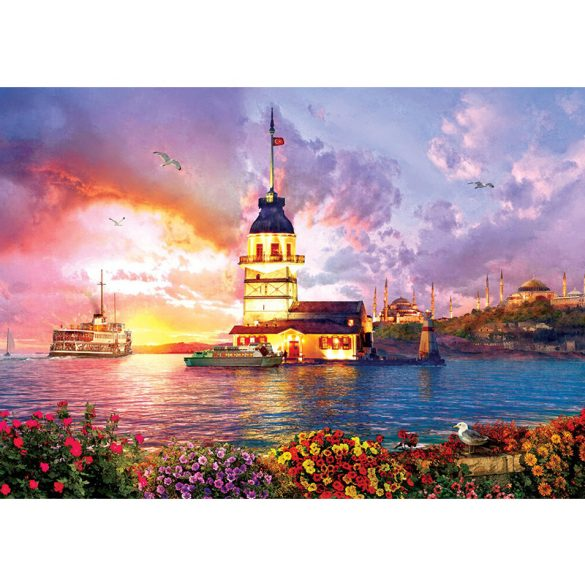 ART 1000 db-os Puzzle - Maiden's Tower - 5179