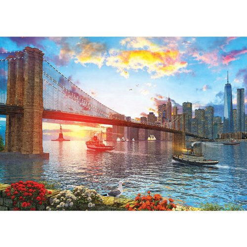 ART 1000 db-os Puzzle - Sunset in New York - 5185