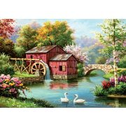 ART 1000 db-os Puzzle - Red Old Mill - 5188