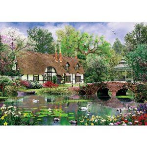 ART 1000 db-os Puzzle - Lotus Flowers - 5189