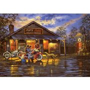 ART 1000 db-os Puzzle - Motorcyclist - 5190