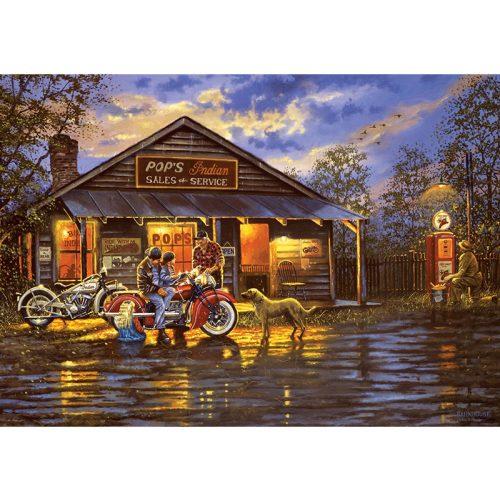 ART 1000 db-os Puzzle - Motorcyclist - 5190