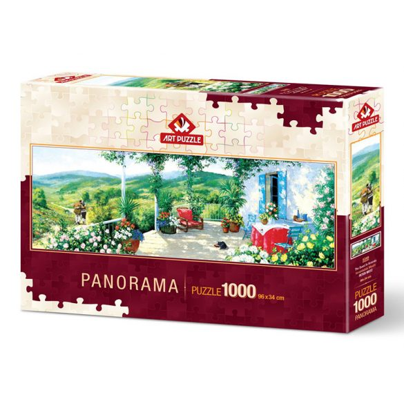 ART 1000 db-os puzzle - The Guest on the Veranda 5349
