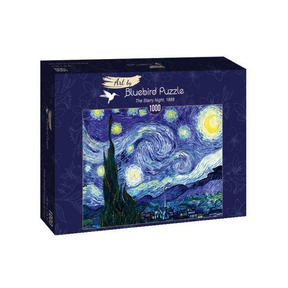 Art by Bluebird 1000 db-os puzzle - Vincent Van Gogh: The Starry Night, 1889 -  60001