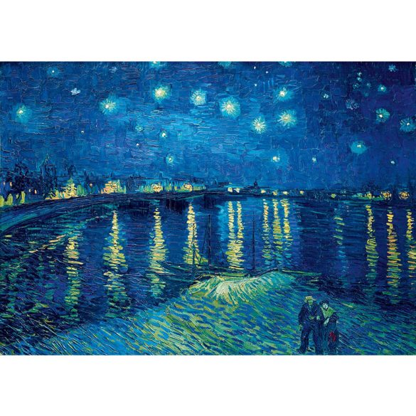 Art by Bluebird 1000 db-os puzzle - Vincent Van Gogh: Starry Night over the Rhône, 1888 - 60002