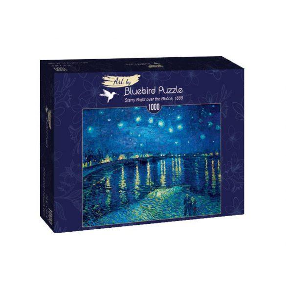 Art by Bluebird 1000 db-os puzzle - Vincent Van Gogh: Starry Night over the Rhône, 1888 - 60002