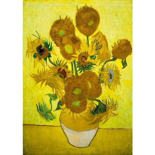 Art by Bluebird 1000 db-os puzzle - Vincent Van Gogh: Sunflowers, 1889 - 60003