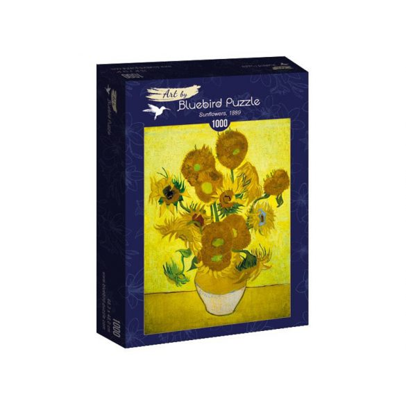 Art by Bluebird 1000 db-os puzzle - Vincent Van Gogh: Sunflowers, 1889 - 60003