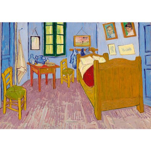 Art by Bluebird 1000 db-os puzzle - Vincent Van Gogh: Bedroom in Arles, 1888 - 60004