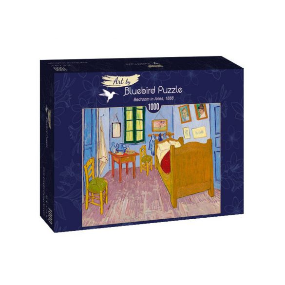 Art by Bluebird 1000 db-os puzzle - Vincent Van Gogh: Bedroom in Arles, 1888 - 60004