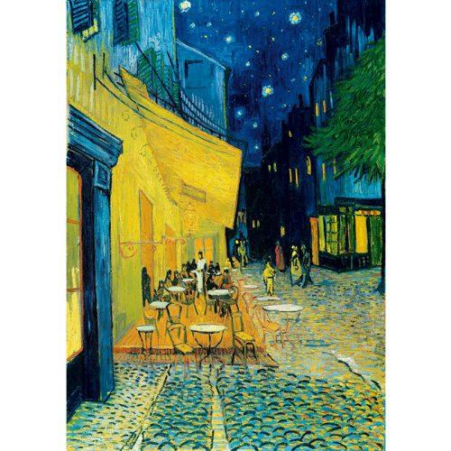 Art by Bluebird 1000 db-os puzzle - Vincent Van Gogh: Café Terrace at Night, 1888 - 60005